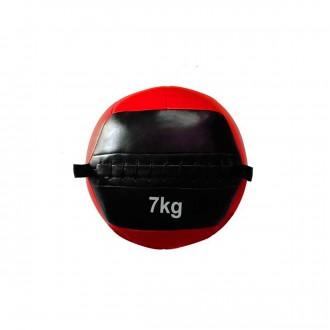Balón  Jim Sports Entrenamiento funcional 7 KG Rojo