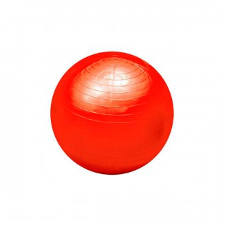 Jim Sports Palla Fitball 55 cm Rosso