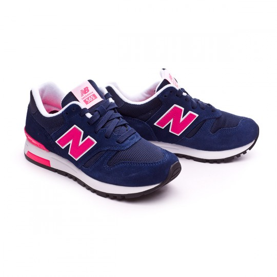 Zapatilla  New Balance WL565 Navy-Pink