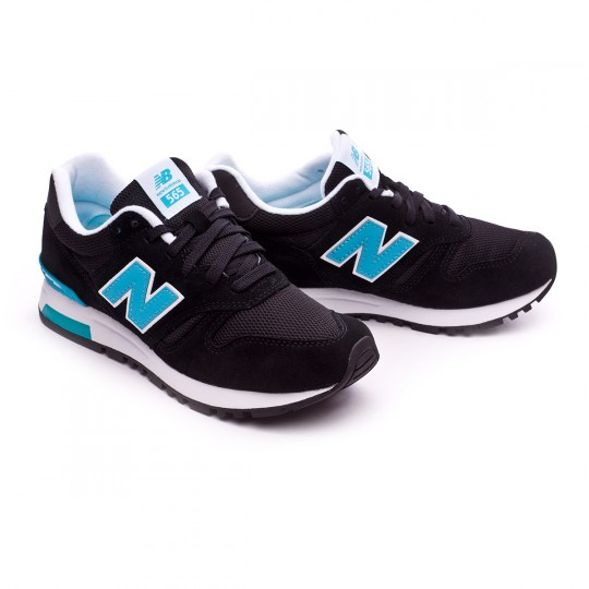 Zapatilla  New Balance WL565 Black-Blue