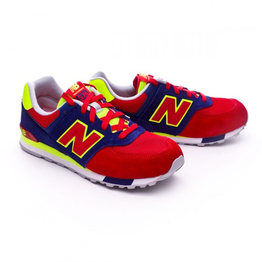 Zapatilla  New Balance KL574 Blue-Red