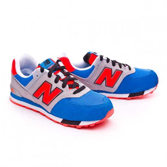 Zapatilla  New Balance KL574 Grey-Blue