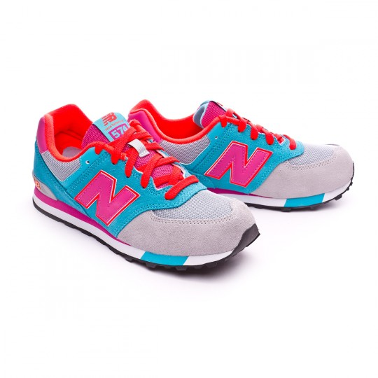Zapatilla  New Balance KL574 Grey-Teal