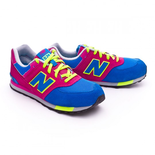 Zapatilla  New Balance KL574 Pink-blue