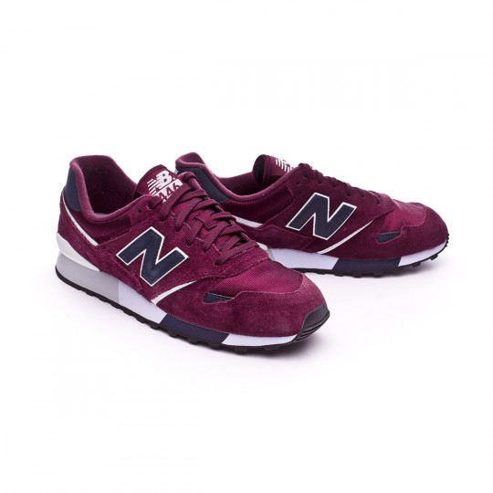 Zapatilla  New Balance U446 Burgundy