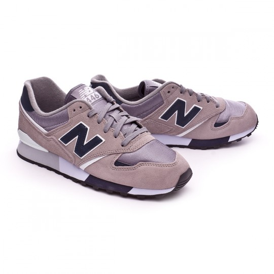 Zapatilla  New Balance U446 Grey-Navy Blue
