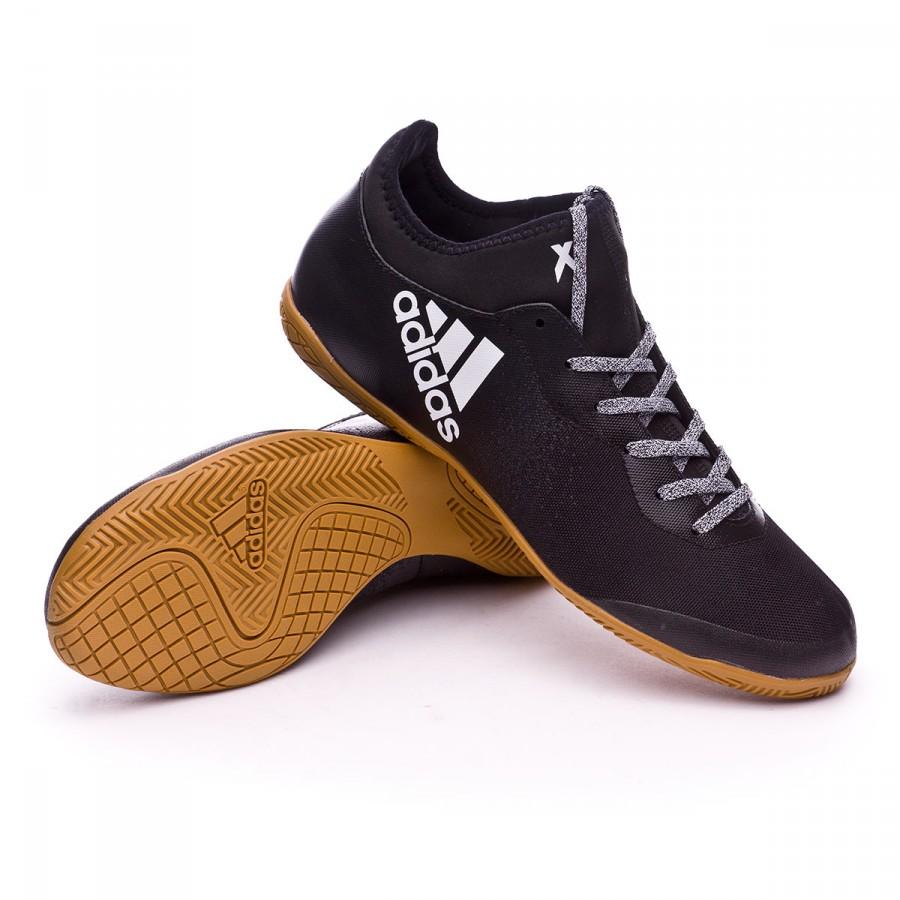 6acc33953db Futsal Boot adidas X Tango 16.3 IN Core black-White-Core black ...