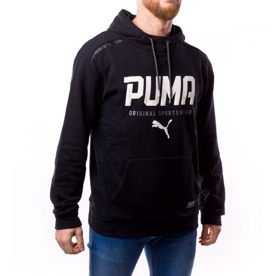 Sudadera  Puma Style Tec Hoody Black