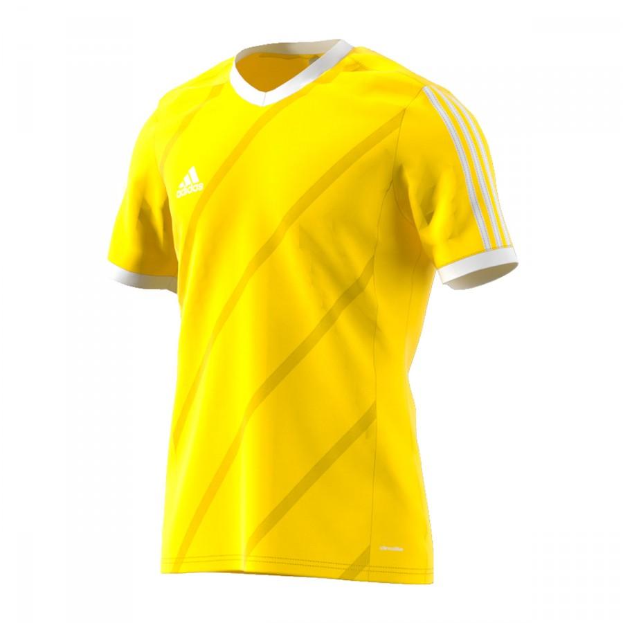 36d29396646b Jersey adidas Tabela 14 SS Amarillo flúor-White - Football store ...