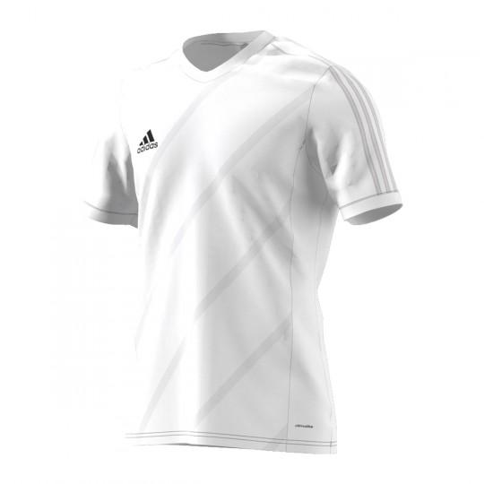 Maillot  adidas Tabela 14 m/c Blanc-Blanc