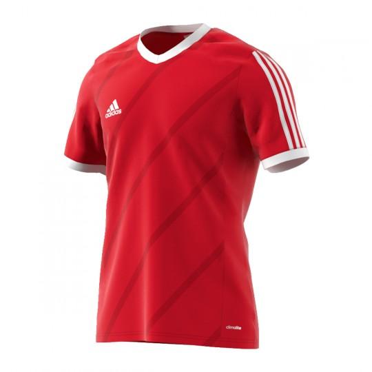 Maillot  adidas Tabela 14 m/c Rouge-Blanc