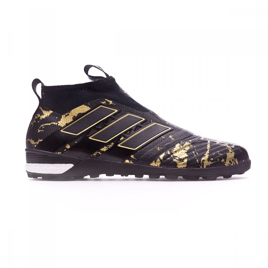 best sneakers e1a35 d262f Football Boot adidas Ace Tango 17+ Purecontrol Turf Pogba Core black-Matte  gold - Football store Fútbol Emotion