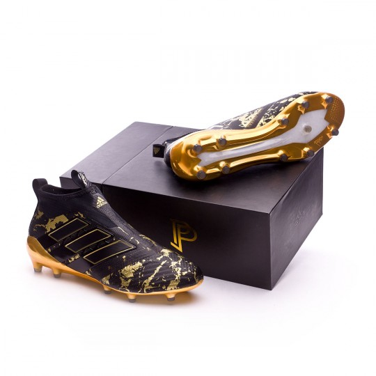 Chaussure  adidas Ace 17+ Purecontrol FG Pogba Core black-Matte gold