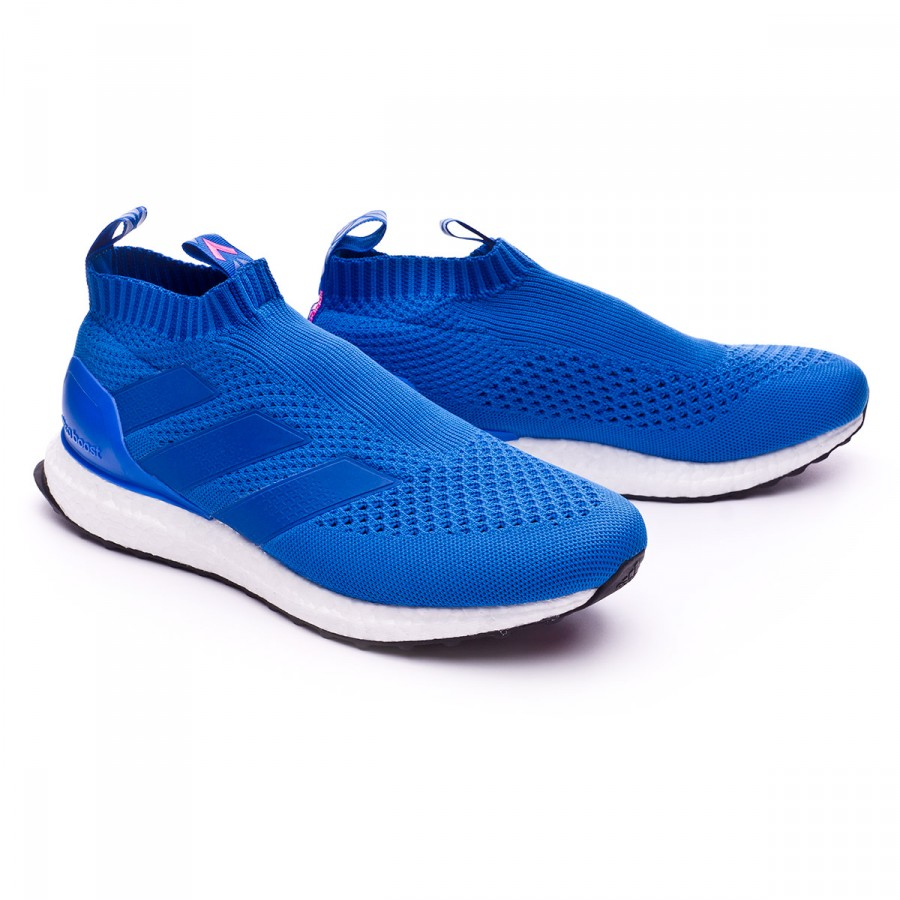 Trainers adidas Ace 17+ Purecontrol Ultraboost Blue-Shock pink - Football  store Fútbol Emotion 5fc1784ee