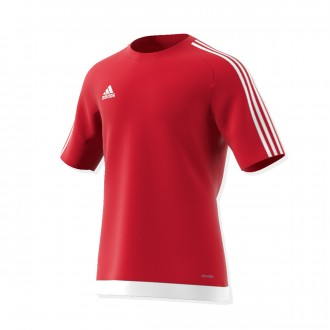 Jersey  adidas Estro 15 SS Red-White