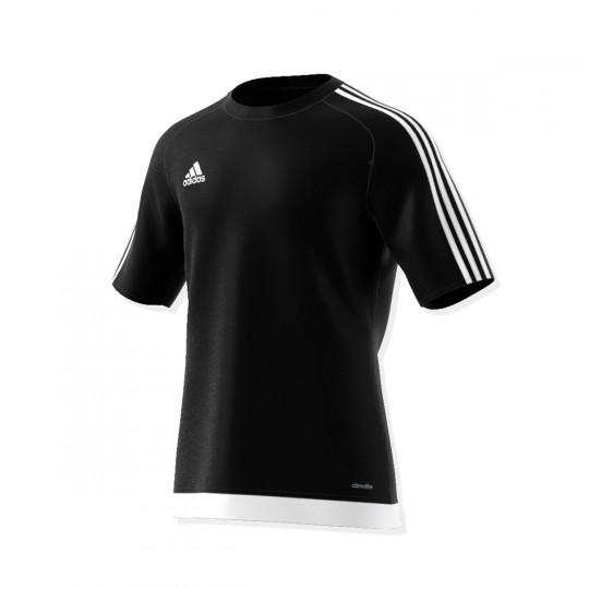 Maillot  adidas Estro 15 m/c Noir-Blanc