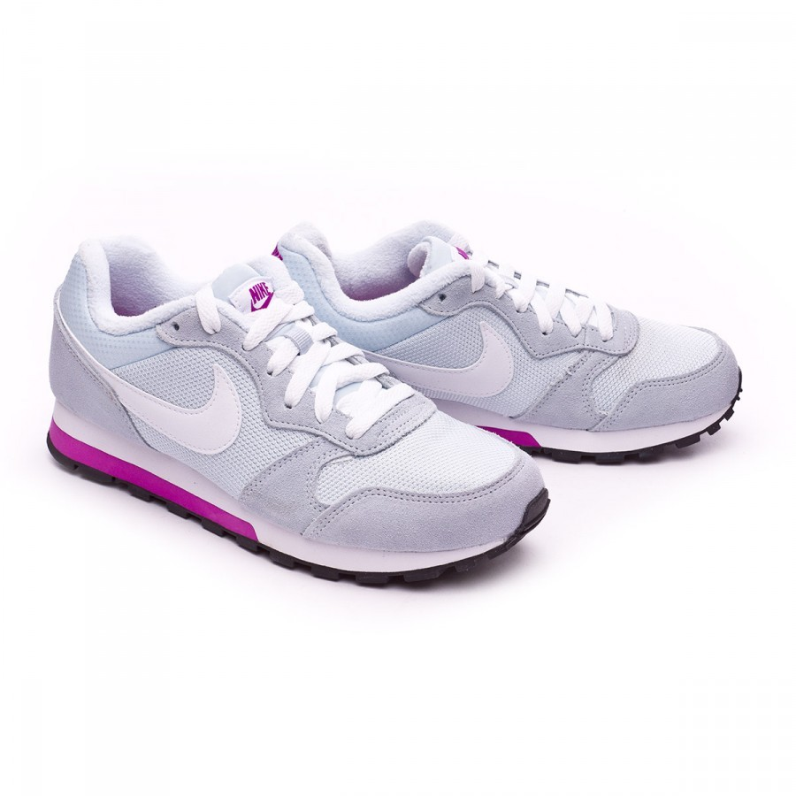 cf3cd23b12d Trainers Nike MD Runner 2 Mujer Blue tint-White-Hyper violet ...