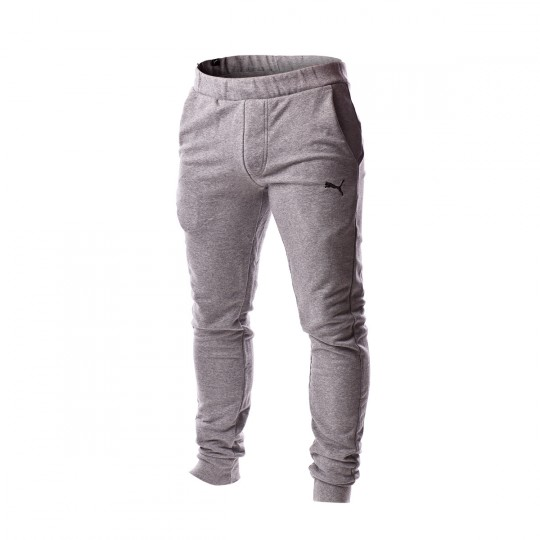 Pantalón largo  Puma ESS Sweat Pants Slim Medium Gray Heather