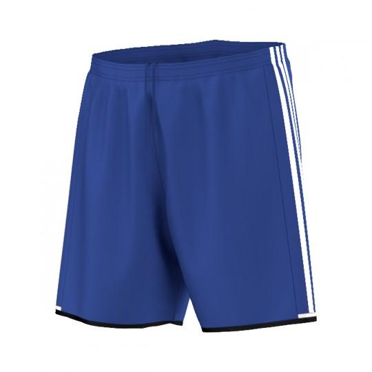 Pantalón corto  adidas Condivo 16 Azul royal-Blanco