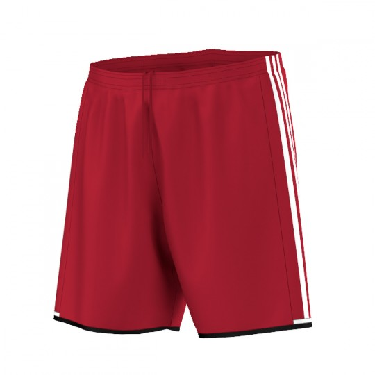 Pantalón corto  adidas Condivo 16 Rojo-Blanco