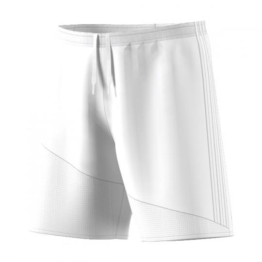Pantalón corto  adidas Regista 16 Blanco-Blanco