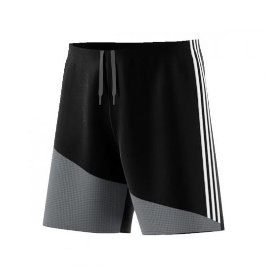 Pantalón corto  adidas Regista 16 Negro-Blanco-Gris