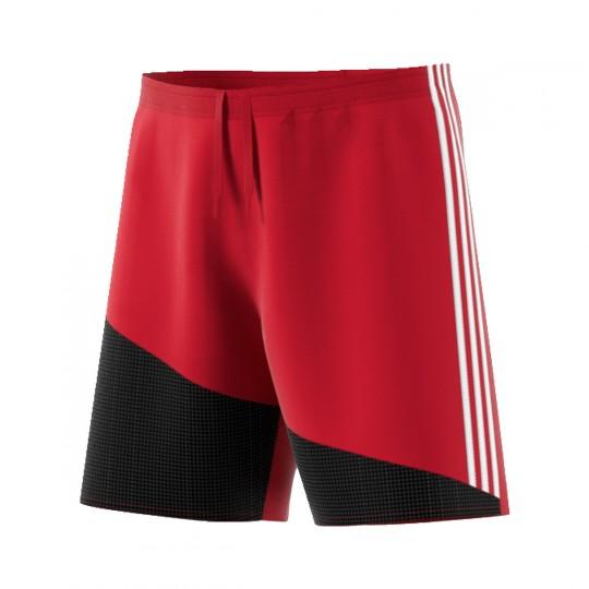 Pantalón corto  adidas Regista 16 Rojo-Blanco-Negro