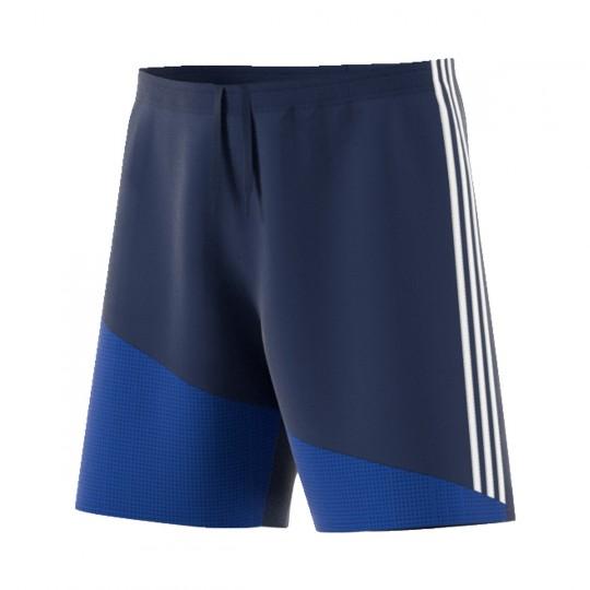 Pantalón corto  adidas Regista 16 Azul marino-Blanco-Azul royal