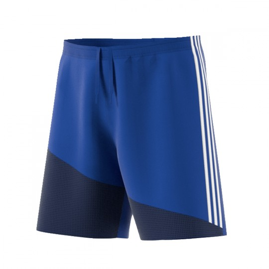 Pantalón corto  adidas Regista 16 Azul royal-Blanco-Azul marino