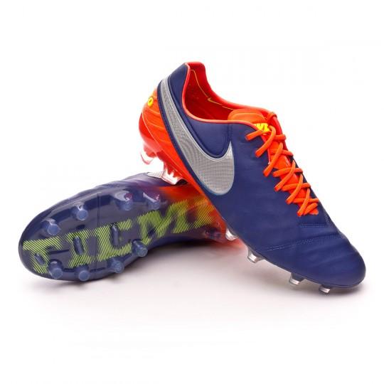 Bota  Nike Tiempo Legend VI ACC FG Deep royal blue-Chrome-Total crimson