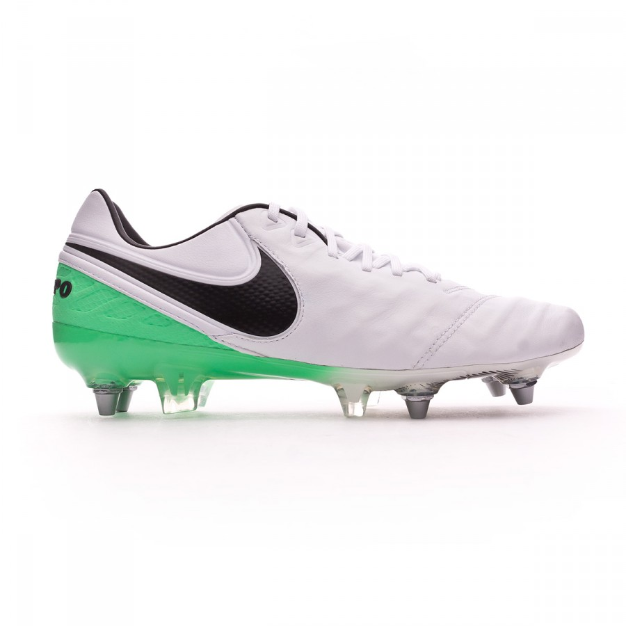 892bea71a Football Boots Nike Tiempo Legend VI ACC SG-Pro White-Electro green -  Tienda de fútbol Fútbol Emotion