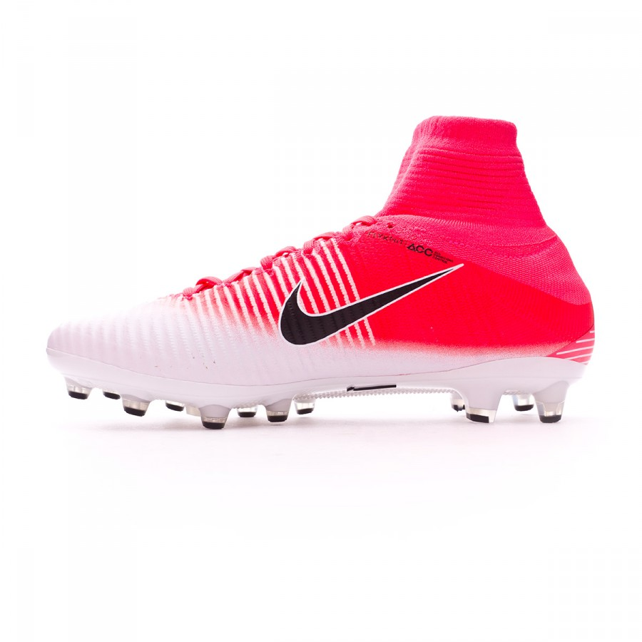best service 23ab8 5e2c5 Football Boots Nike Mercurial Superfly V ACC AG-Pro Racer pink-White -  Football store Fútbol Emotion