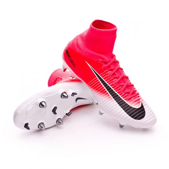 Chaussure  Nike Mercurial Superfly V ACC SG-Pro Racer pink-White