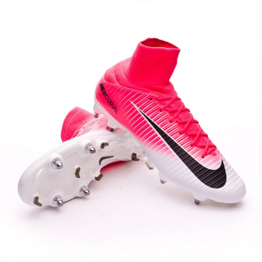 Chaussure  Nike Mercurial Veloce III DF SG-Pro Racer pink-White