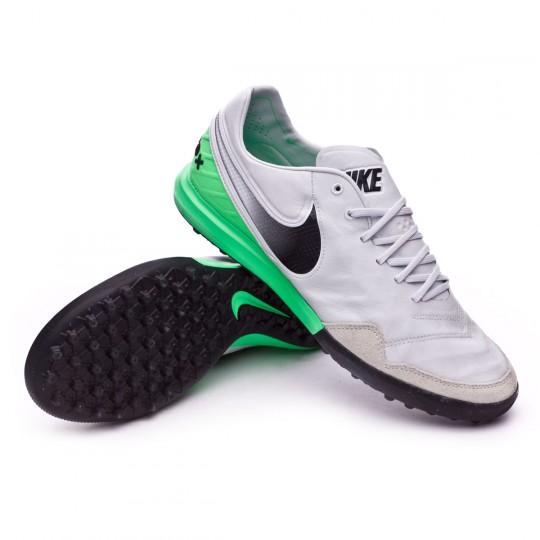 Zapatilla de fútbol sala  Nike TiempoX Proximo Turf White-Electro green