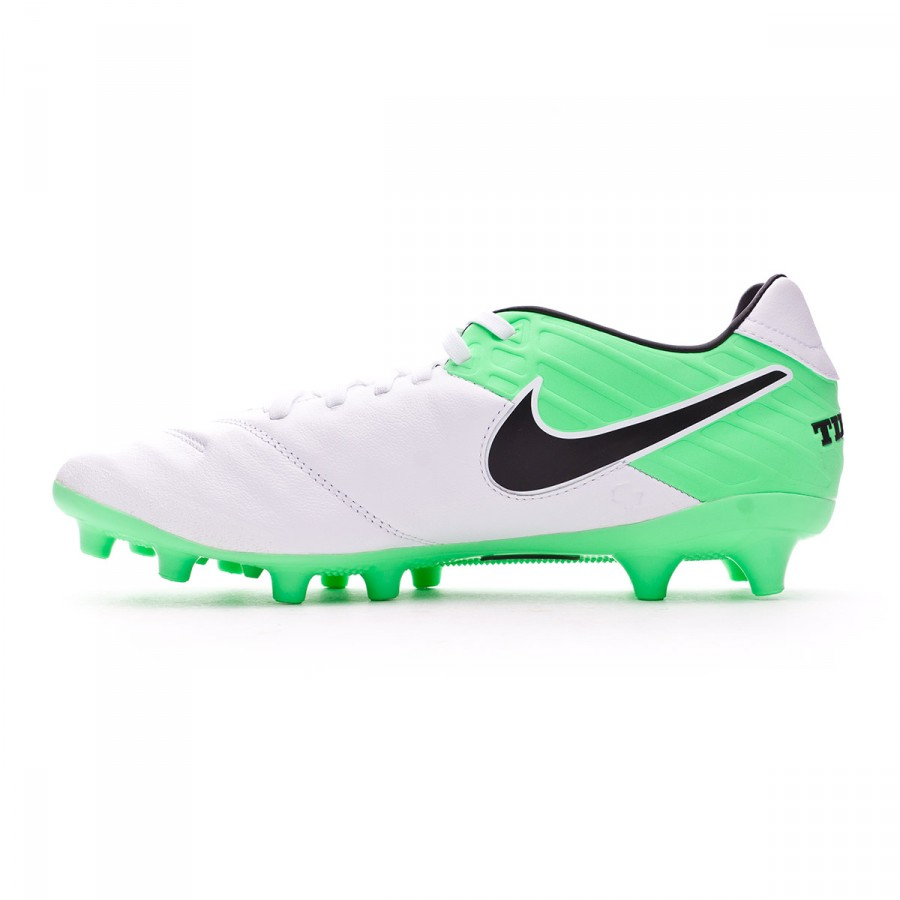 best sneakers ff7b6 4802d Boot Nike Tiempo Mystic V AG-Pro White-Electro green - Football store  Fútbol Emotion