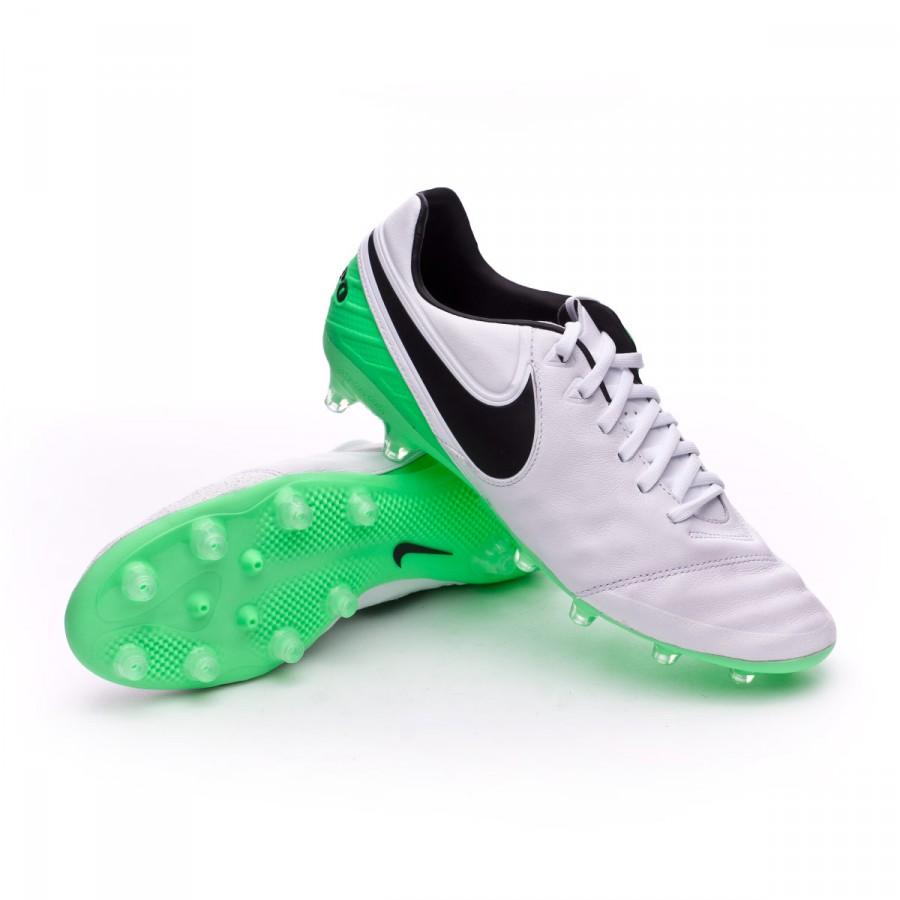 compra original encontrar mano de obra últimos lanzamientos Football Boots Nike Tiempo Legacy II AG-Pro White-Electro green ...