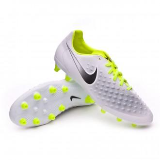 Chuteira  Nike Magista Onda II AG-Pro White-Volt-Pure platinum