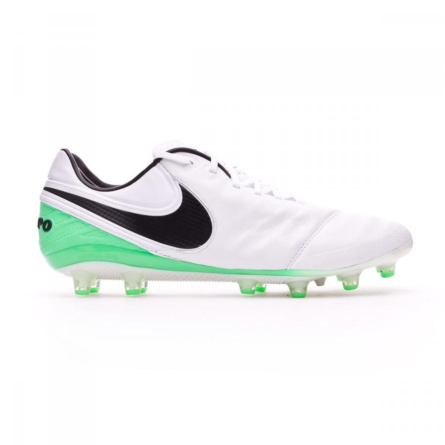 716adb1e Bota de fútbol Nike Tiempo Legend VI ACC AG-Pro White-Electro green -  Tienda de fútbol Fútbol Emotion