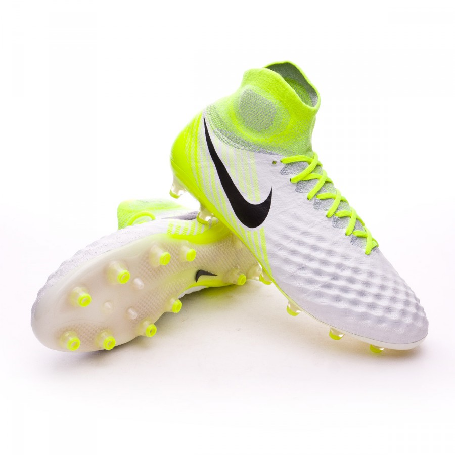 6caac386f Nike Magista Obra II ACC AG-Pro Football Boots. White-Volt-Pure ...