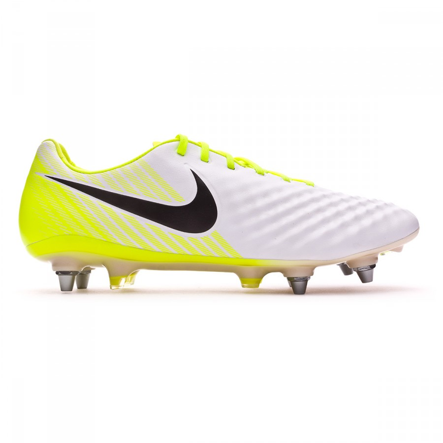 af89e3b21dae Football Boots Nike Magista Opus II ACC SG-Pro White-Volt-Wolf grey -  Football store Fútbol Emotion