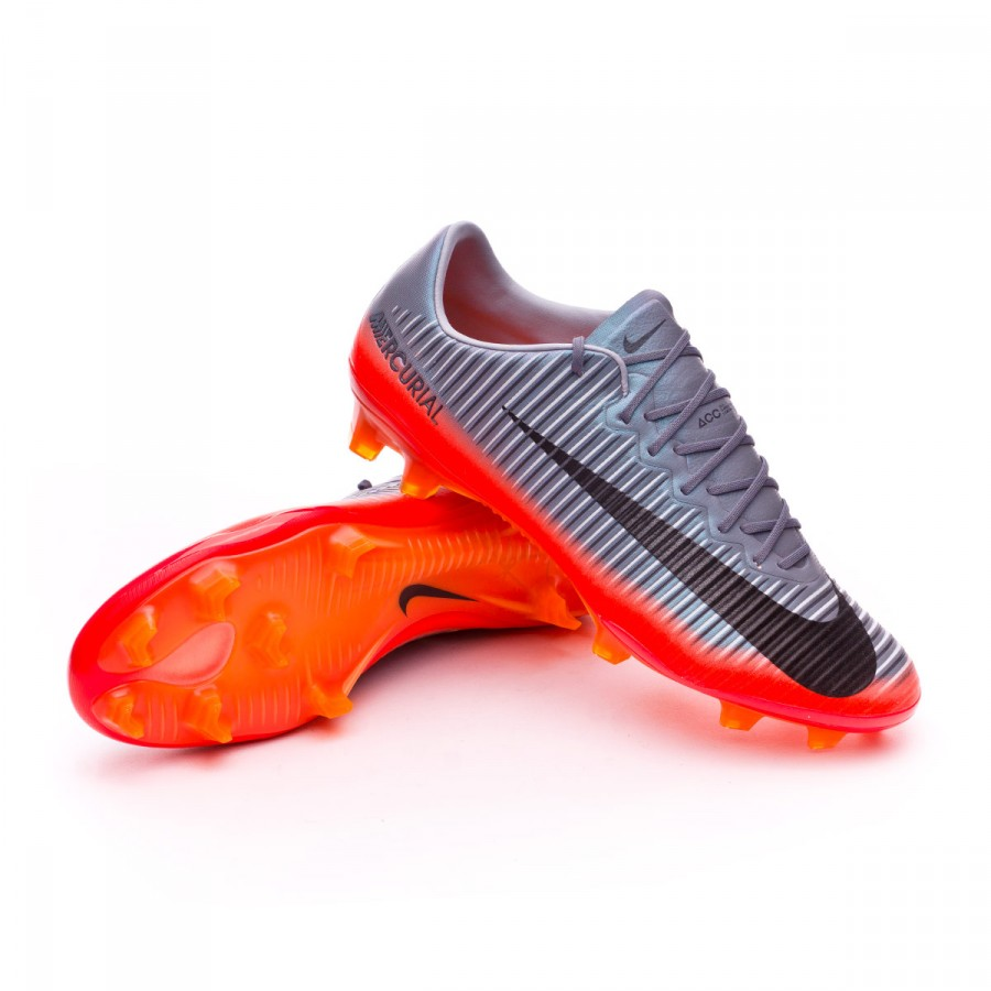 8e51e3bdbb Mercurial Vapor XI ACC CR7 FG Cool grey-Metallic hematite-Wolf grey