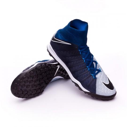 Sapatilha  Nike HypervenomX Proximo II DF Turf Brave blue-Photo blue-Blue tint