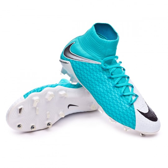 00f203510 ... authentic boot nike hypervenom phatal iii df fg white photo blue  chlorine blue football store fútbol