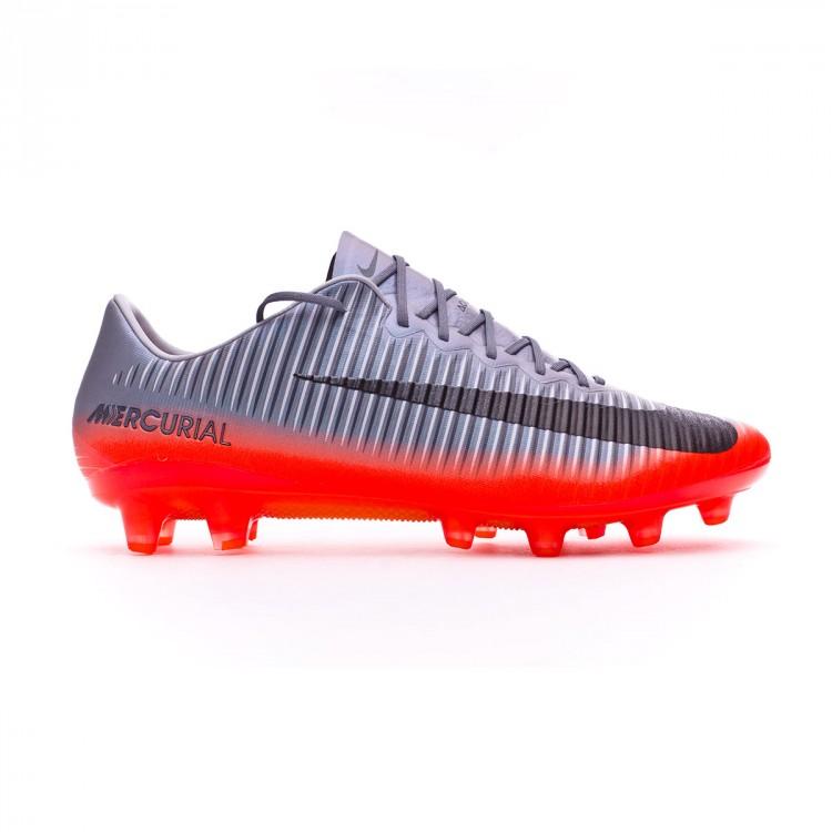 74e1224f526 Football Boots Nike Mercurial Vapor XI ACC CR7 AG-Pro Cool grey ...