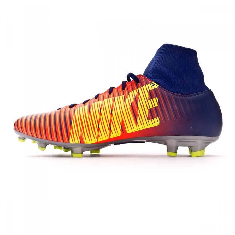 Bota de fútbol Nike Mercurial Victory VI DF FG Deep royal blue-Chrome-Total  crimson - Soloporteros es ahora Fútbol Emotion 6d69550ccf0e0