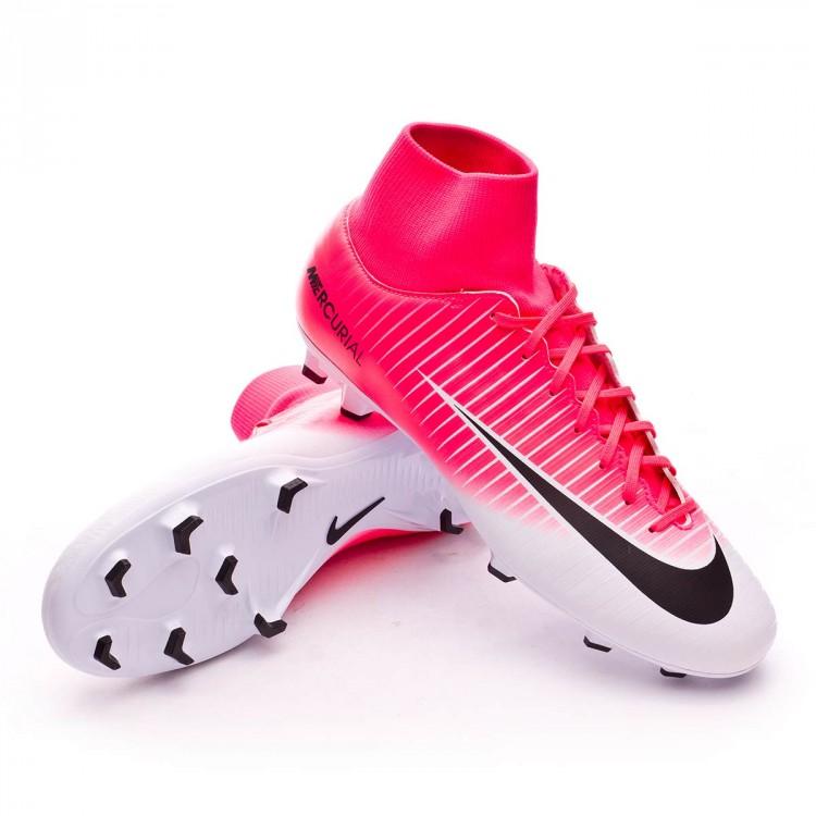 Bota de fútbol Nike Mercurial Victory VI DF FG Racer pink-White ... e230f383067ba