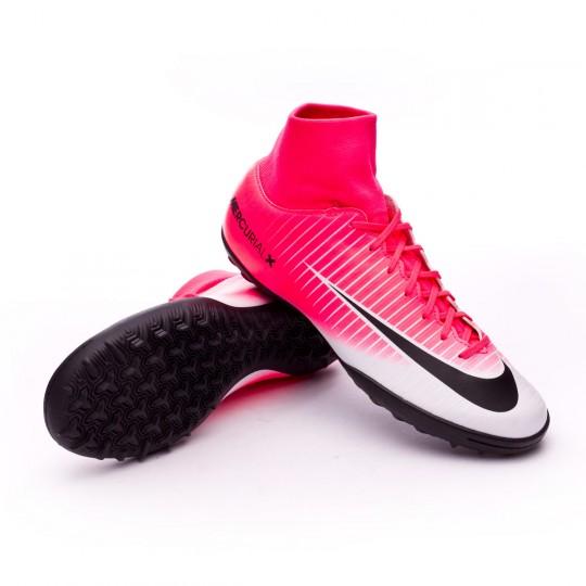 Zapatilla de fútbol sala  Nike MercurialX Victory VI DF Turf Racer pink-White