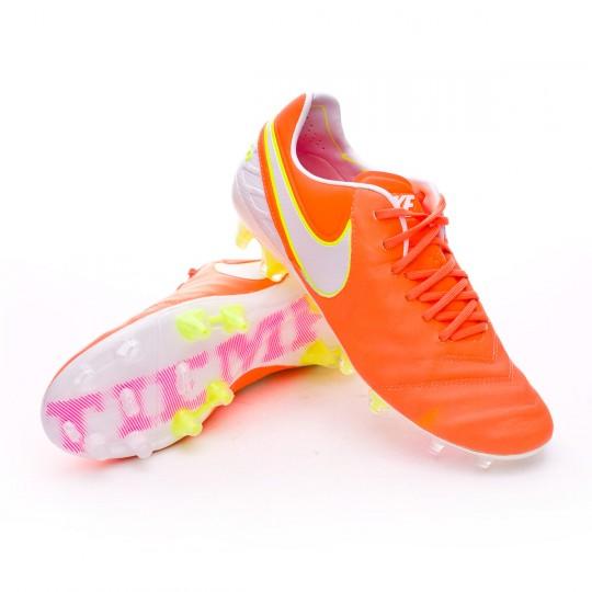 Bota  Nike Tiempo Legend VI ACC FG Mujer Tart-Volt-Hyper pink