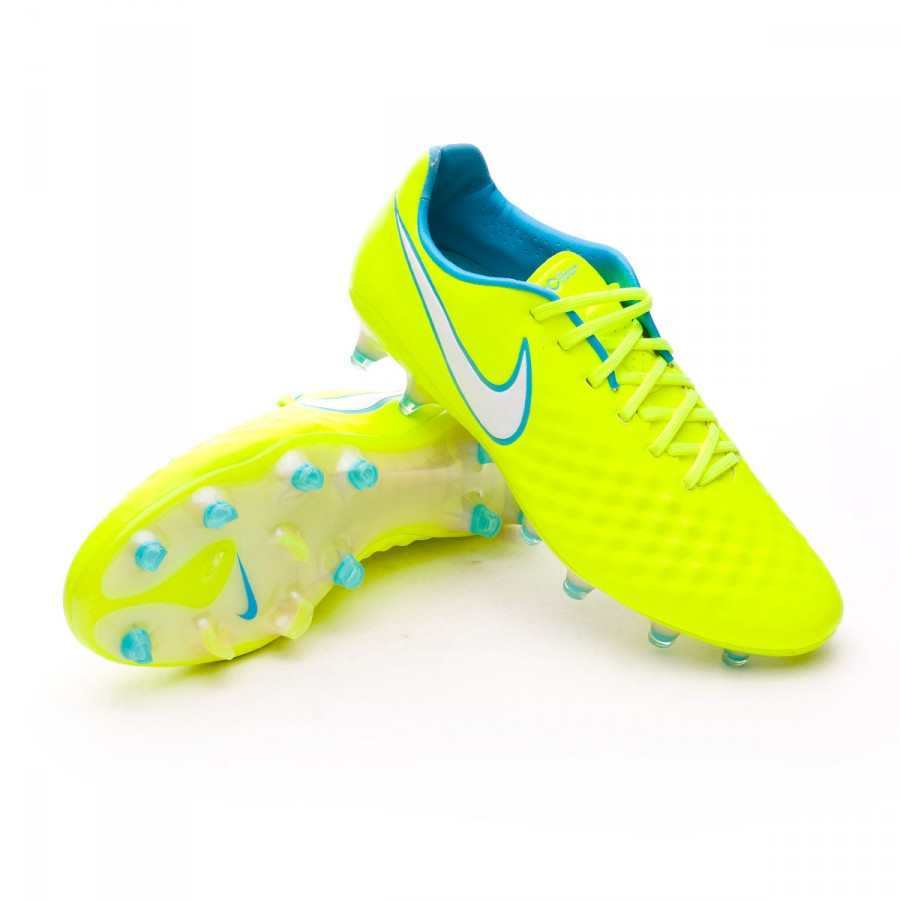 Boot Nike Magista Opus II ACC FG Mujer Volt-Barely Volt-Chlorine ... f02ba85fd